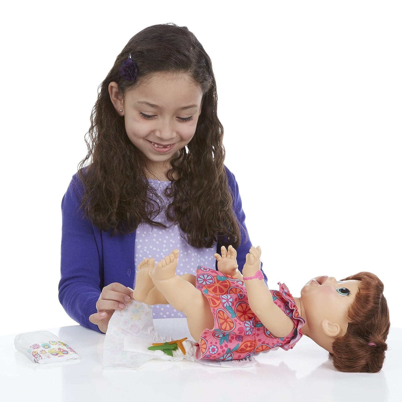 Amazon Baby Alive Super Snacks Snackin Sara Brunette Toys