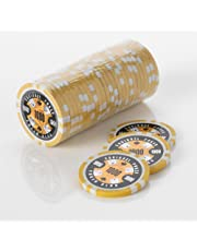 Squirrel Poker 15G Poker Chips - Design Poker Club 15G Poker Chips Colour = Yellow, Value = $1000