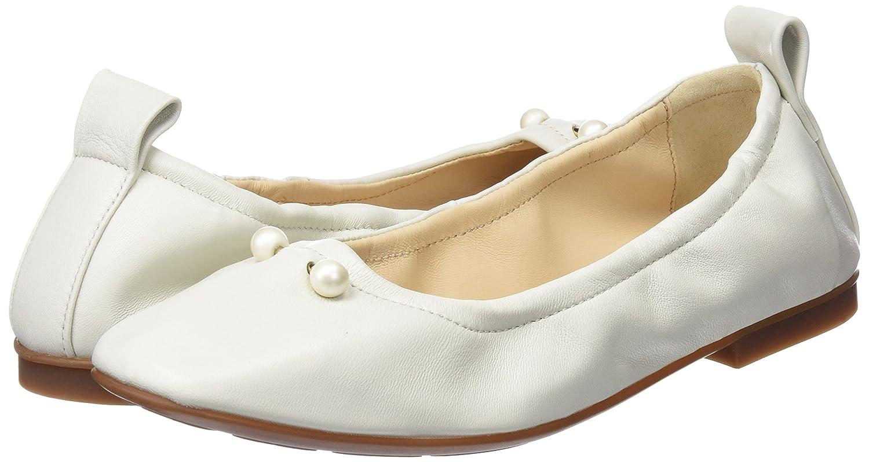 Sabrinas Damen Ballerinas Musa Geschlossene Ballerinas Damen Elfenbein (Weiß) 555a42