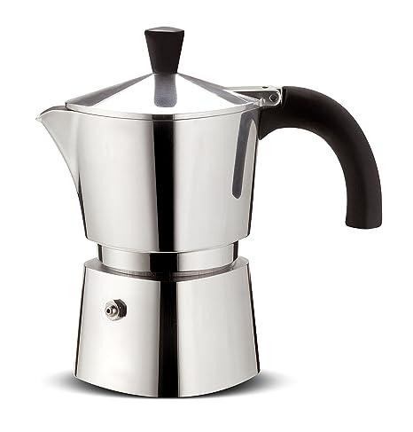 Lagostina Brava Cafetera, Aluminio, 3 Tazas: Amazon.es: Hogar
