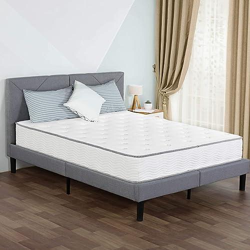 PrimaSleep 10 Inch Hybrid Comfort Tight Top Spring Mattre