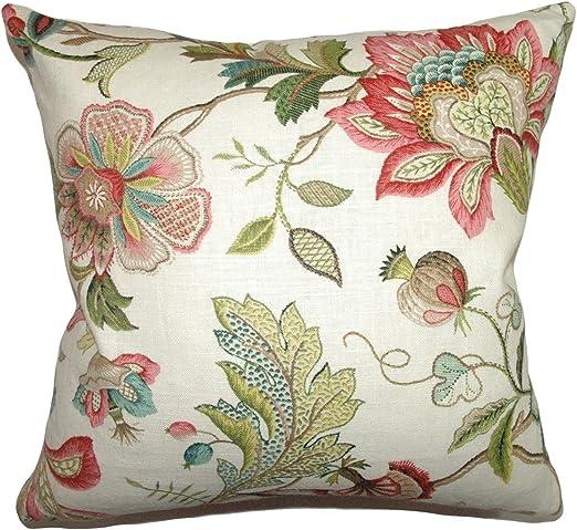 Amazon.com: La almohada Collection Adele crewels almohada ...