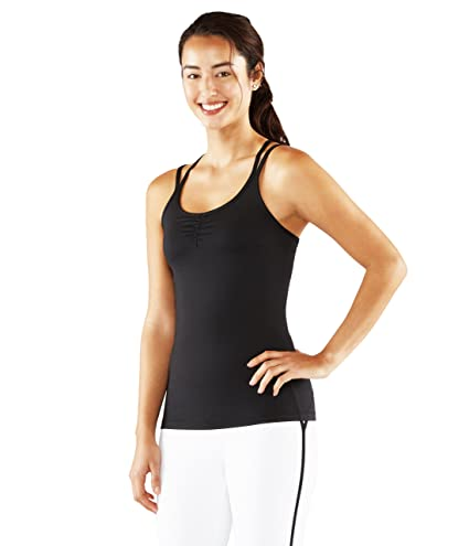 86273704d3af7 Amazon.com  Manduka Women s New Cross Strap Cami Top  Sports   Outdoors