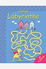 Lustige Labyrinthe - Rätselspaß für Kinder ab 3 Jahren. (Labyrinthe für Kinder 1) (German Edition) Kindle Edition