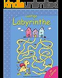 Lustige Labyrinthe - Rätselspaß für Kinder ab 3 Jahren.