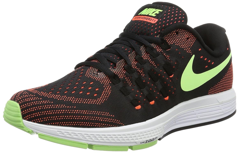 Nike Men's Air Zoom Vomero 11 Running Shoes B01M6VXN09 8.5 D(M) US|Black/ghost Green-hyper Orange-white