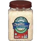 RiceSelect Organic Texmati White Rice, Long Grain, Gluten-Free, Non-GMO, 32 oz (Pack of 4 Jars)