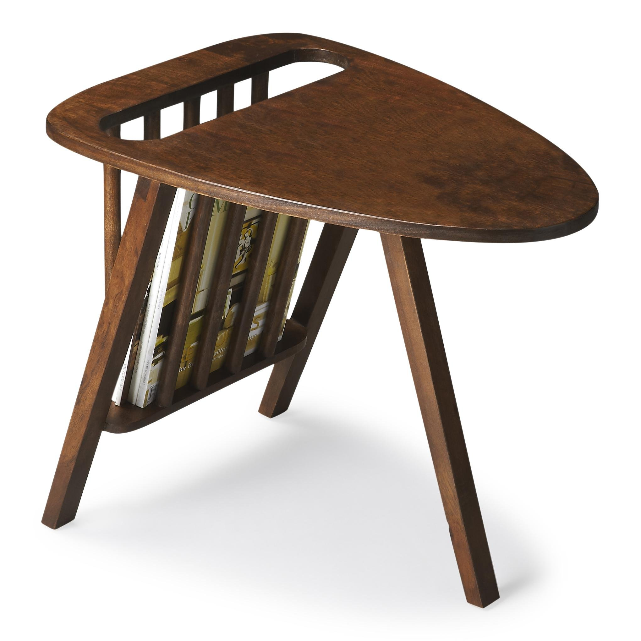 Butler Specialty Company Russet Brown Magazine Table