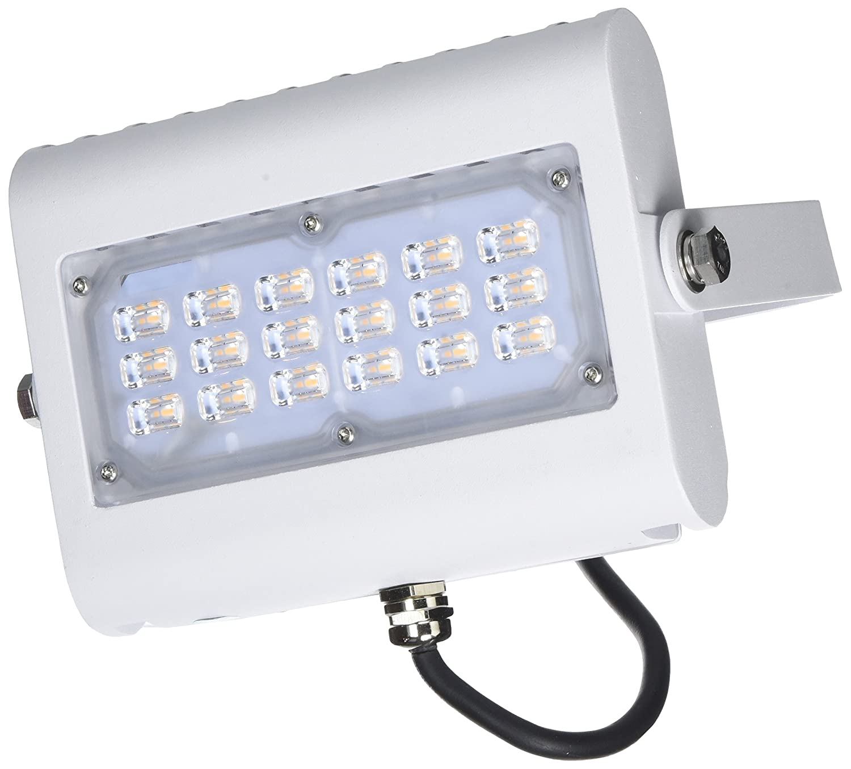 Diodor LED Flutlichtstrahler, Aluminium, 30 W, Weiß, 17.97 x 13 x 17.09 cm Weiß DIO-FLF30N-W