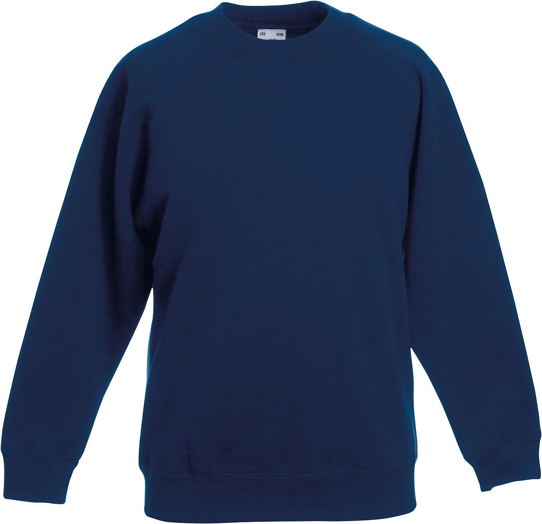 Ages 1-15 + Adult Sizes XS - 3XL Boys Girls Unisex Sweatshirt Jumper Crew Neck School Uniform