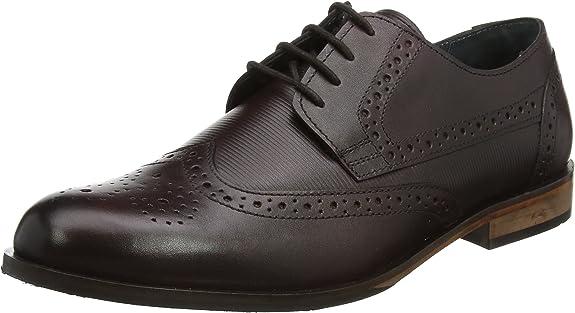 TALLA 38.5 EU. Lotus Denford, Zapatos de Cordones Brogue Hombre