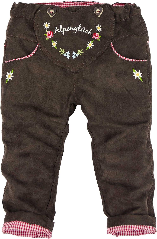 BONDI Latzhose gef/üttert Tracht Baby M/ädchen Artikel-Nr.85718