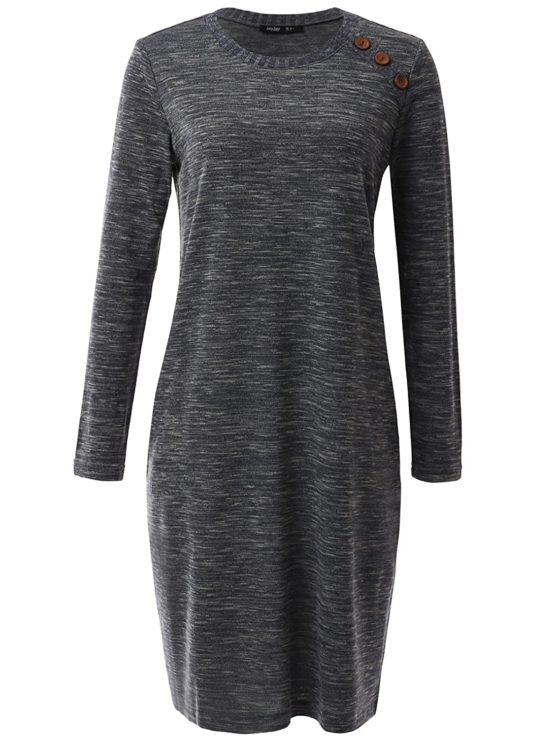JayJay XL Company Jwdl472q9_charcoal DRESS レディース B075QYLFYF Company Jwdl472q9_charcoal XL, LEVI'S リーバイス:ee64a9f3 --- pcaautomation.com.br
