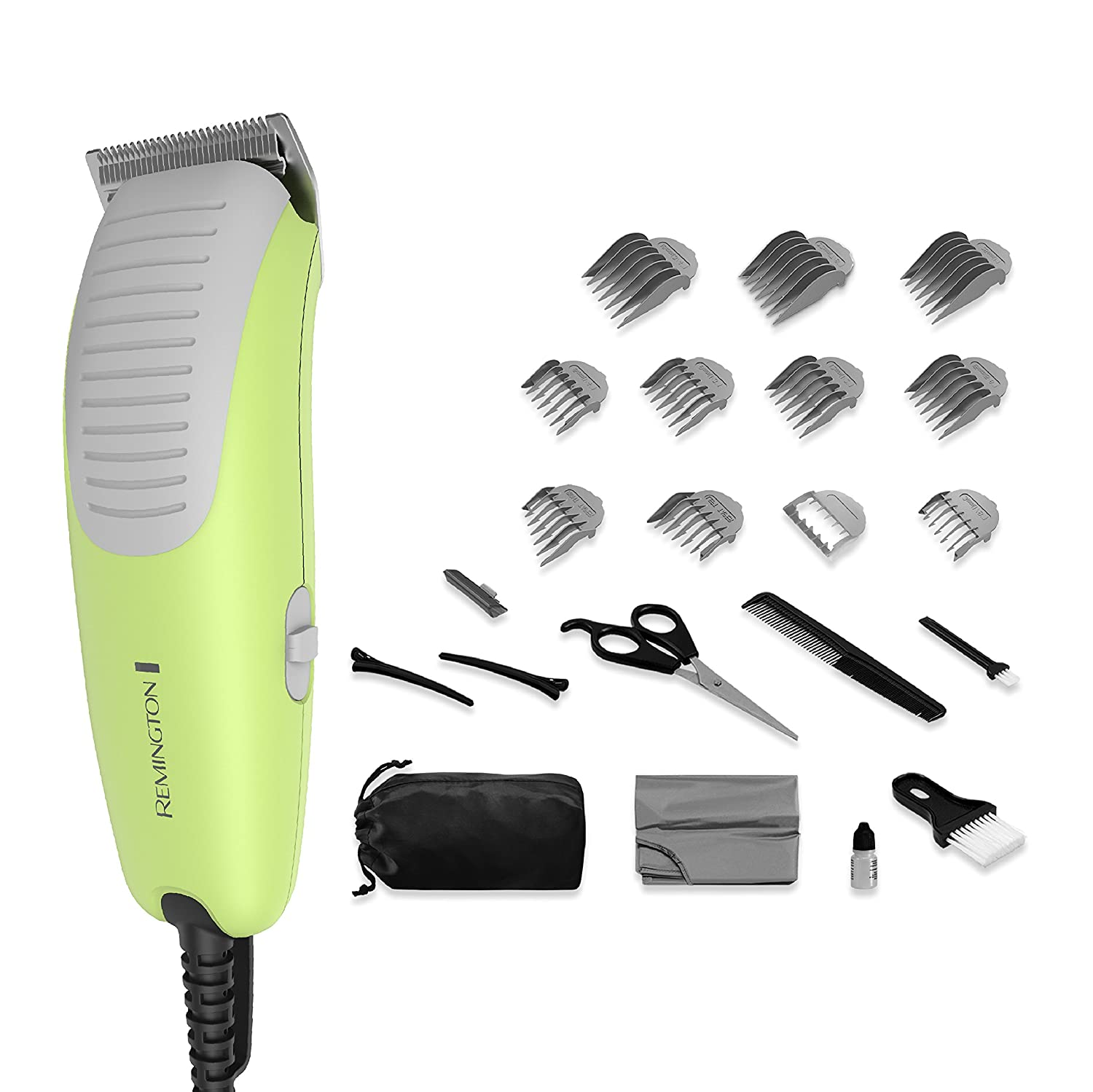 Remington 22-Piece Kids Clipper Haircut Kit with Ultra Quiet Motor, HC5080
