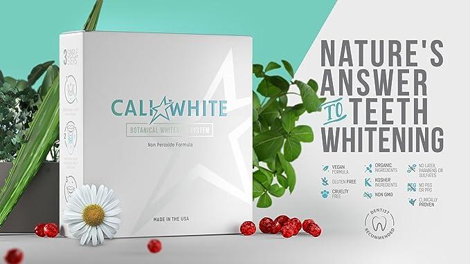 ... peróxido cero, fórmula botánica, vegano, blanqueador orgánico para sonrisa sensible, geles, jeringas 3X 3Ml, uso con Uv o luz Led y bandejas: ...