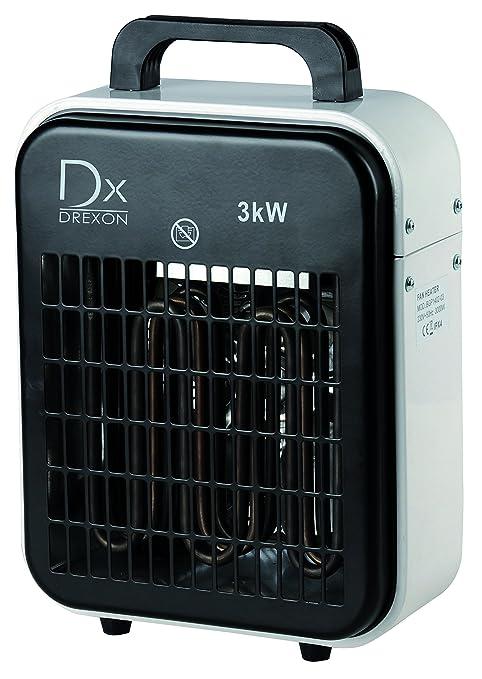 Drexon 924100 ambiente de taller con turbo-ventilador 3000 W