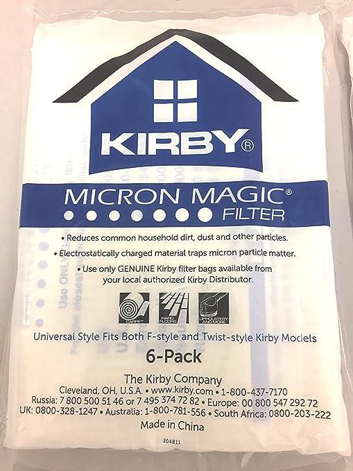 Kirby aspiradora todos los modelos Genuine Hepa bolsas de ...