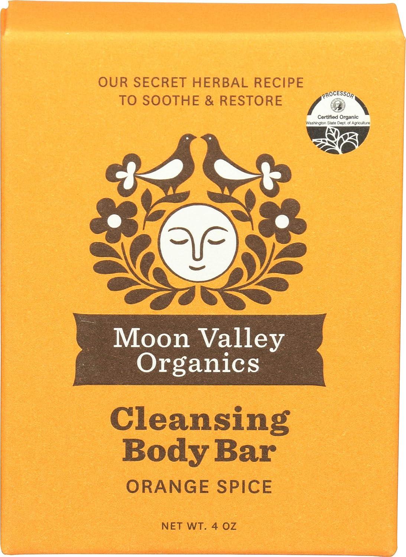 Moon Valley Organics, Soap Bar Orange Spice Organic, 4 Ounce