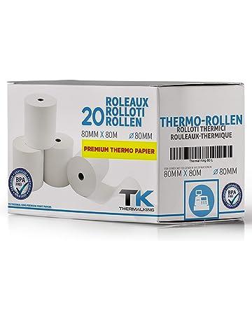 markenbon 30 phenolfreie Thermorollen f/ür Epson TM-H 6000 80m