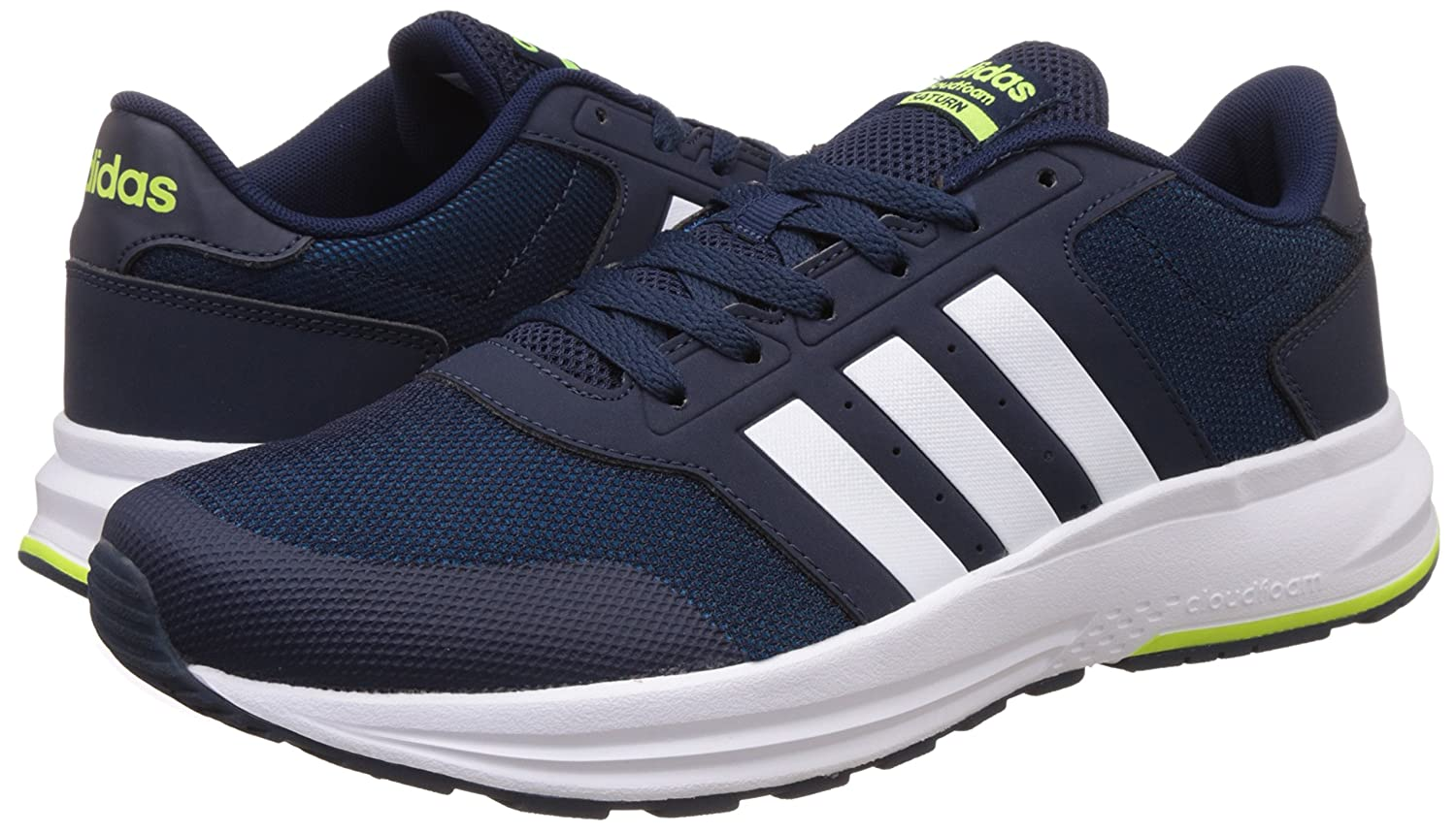 coupon codes shoes for cheap new authentic adidas neo Men's Cloudfoam Saturn Sneakers