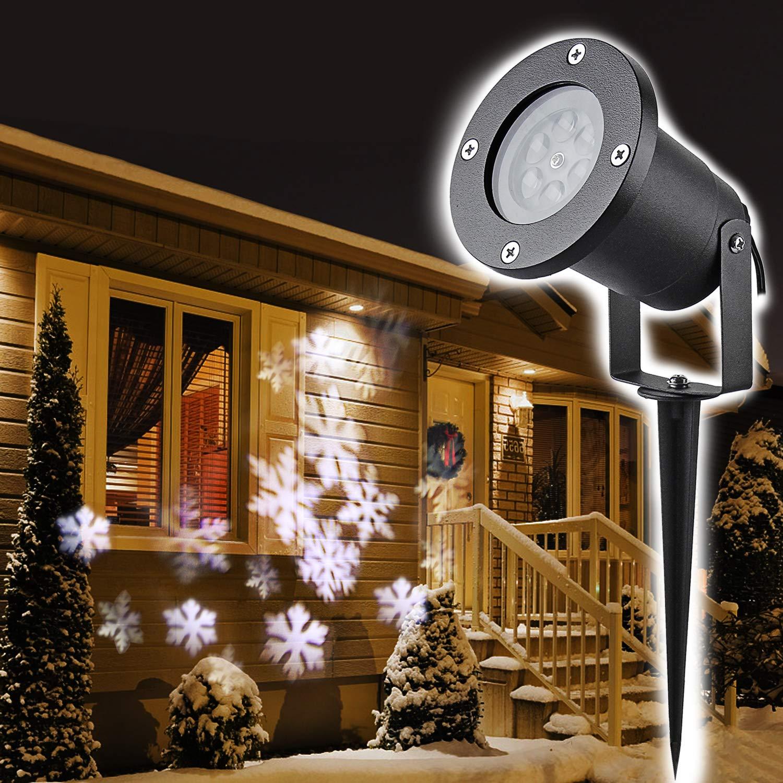 Led Weihnachtsbeleuchtung LED Projektor Lichter Weihnachten ...