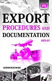 AED1 Export Procedures and Documentation (IGNOU Help book forAED01 in English)