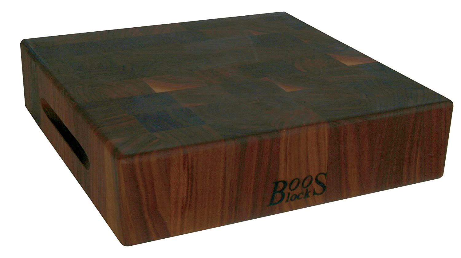 John Boos Walnut Wood Reversible Butcher Block Cutting Board