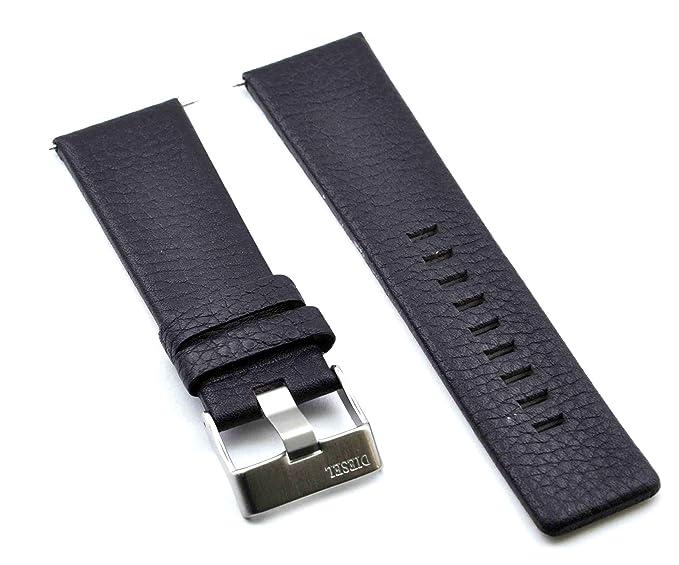 Fit Diesel de repuesto correa de piel reloj banda correa de 26 mm marrón DZ4290 similar: Amazon.es: Relojes