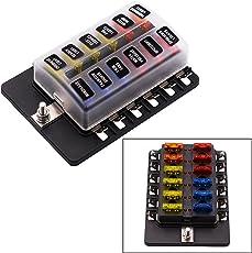 amazon com fuse boxes fuses accessories automotive rh amazon com fuse box for car fuse box caravan 2002