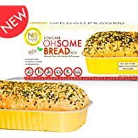 No Sugar Aloud, Low Carb OhSome Bread Mix (No Sugar Added, Gluten Free, Vegan, Keto and Diabetic Friendly)