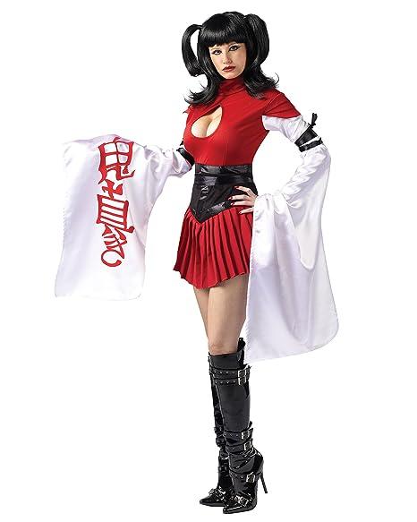Amazon.com: Sexy disfraz de geisha grande Bell Mangas ...