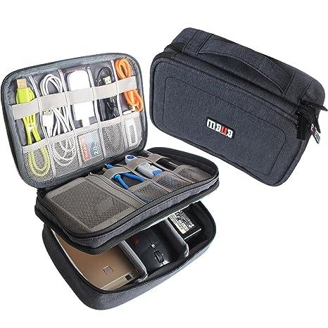 Amazoncom BUBM Electronic Organizer Double Layer Travel Gadget