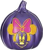 """Disney Minnie Mouse Light Up Pumpkin, 6"""""""