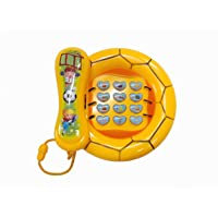 Plutofit® Learning Telephone Toy with Music and Light for Kids