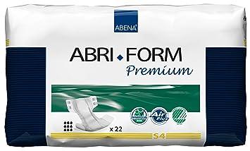 Amazon.com: Abena Abri-Form Premium Incontinence Briefs, Small, S4 ...