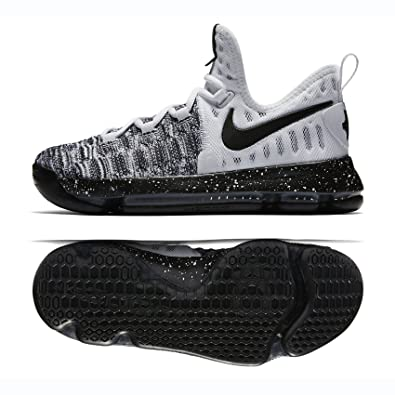 d450a7ae11de Nike Zoom KD 9 (GS) White Black (Oreo) (6Y)  Buy Online at Low Prices in  India - Amazon.in
