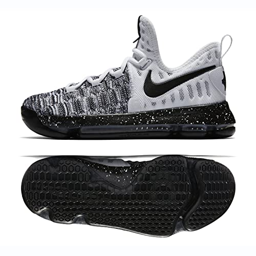 online retailer 6d77d d5c39 Nike Zoom KD 9 (GS) White Black (Oreo) (5.5Y)  Buy Online at Low Prices in  India - Amazon.in