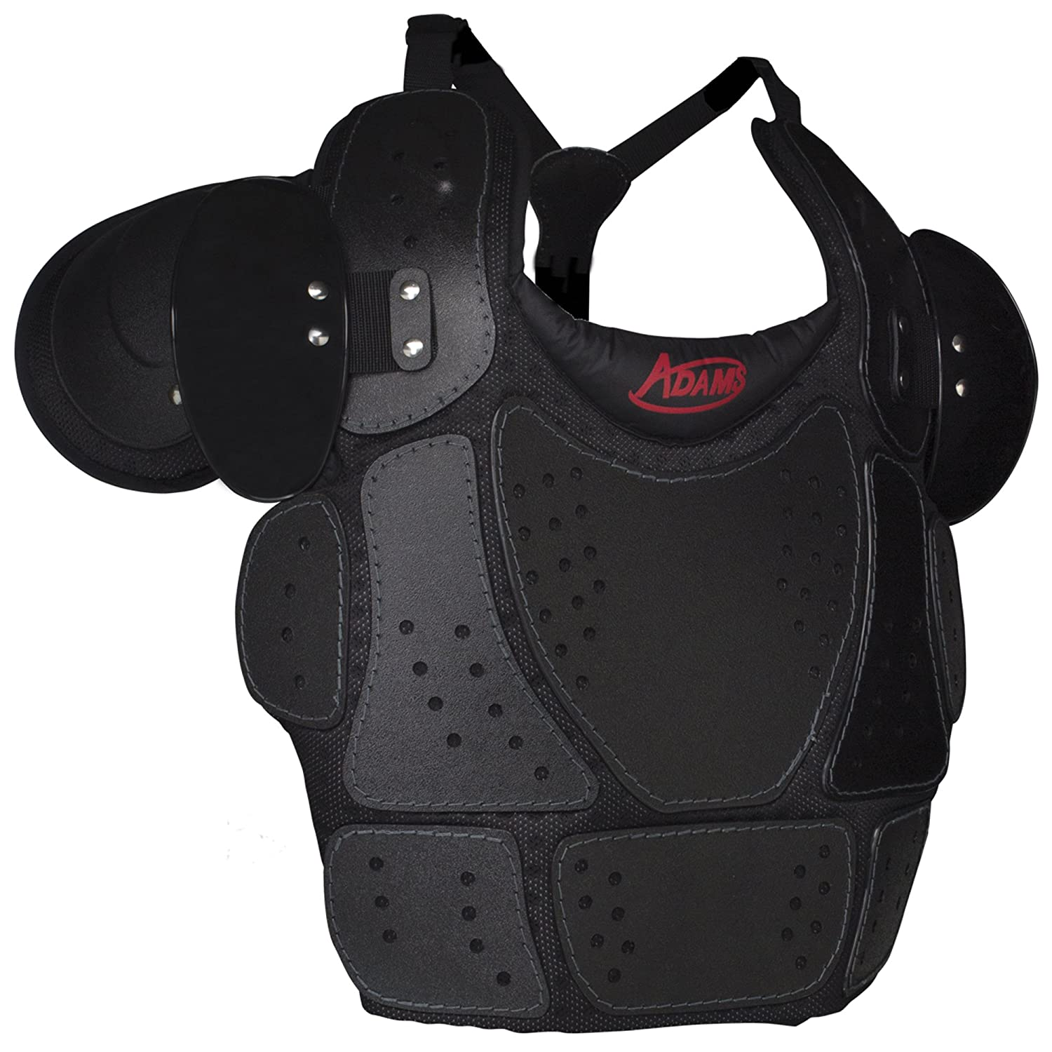 ADAMS USA ULP-CP-12 Umpire Low Profile Chest Protector, Black, One Size Schutt Sports