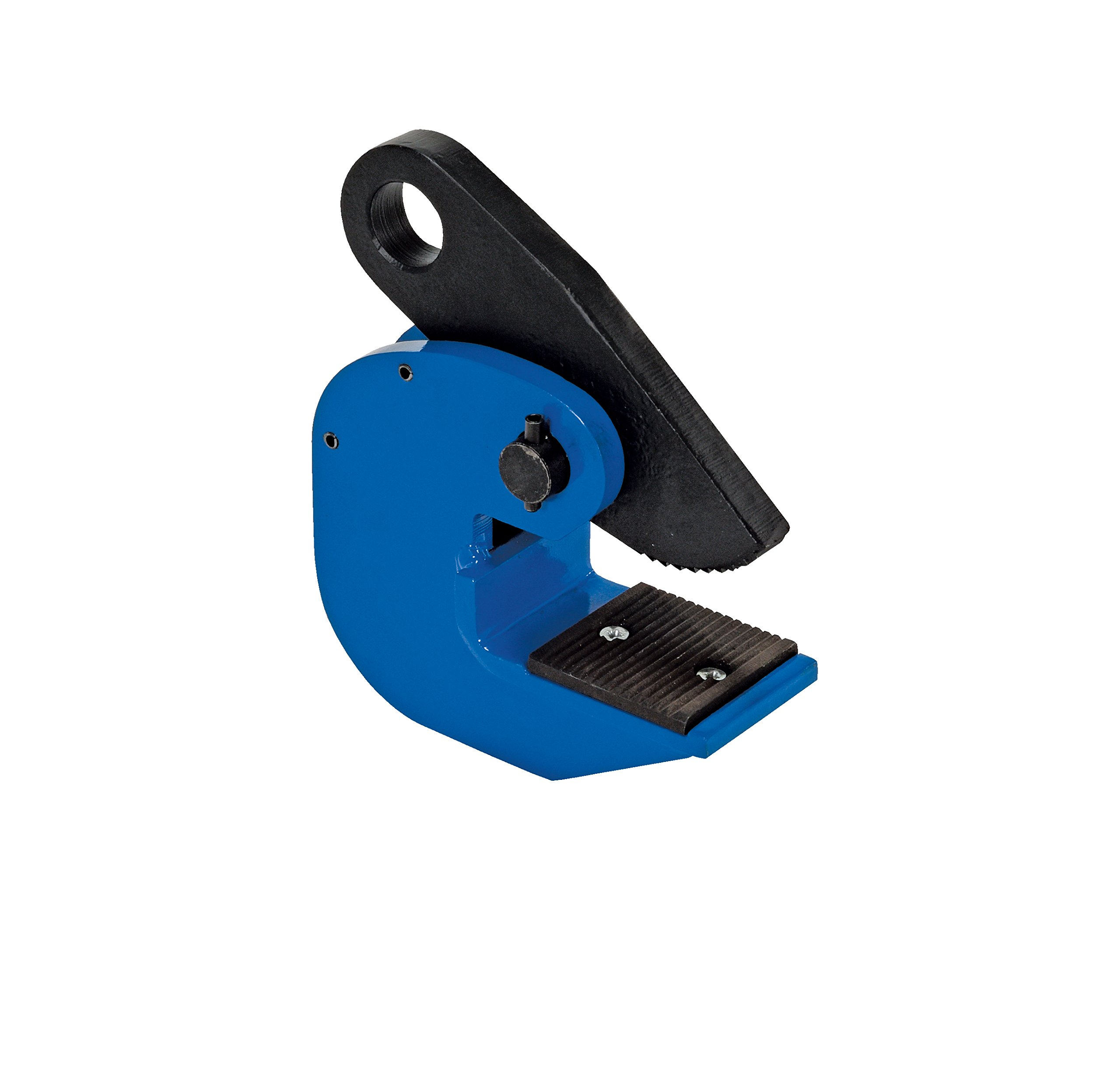 Vestil HPC-40 Horizontal Plate Lifting Clamp, Steel, 1-1/4'' Plate Thickness, 4000 lbs Working Load Limit, 1.2'' Bale Opening