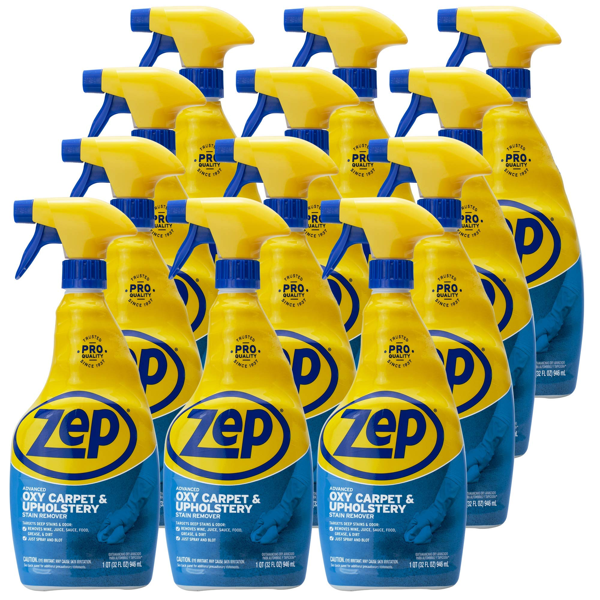 Zep Advanced Oxy Carpet Cleaner 32 Ounce ZUOXSR32 (Case of 12)