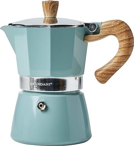 Brandani 53990 Naturalexpress - Cafetera (3 tazas, aluminio ...