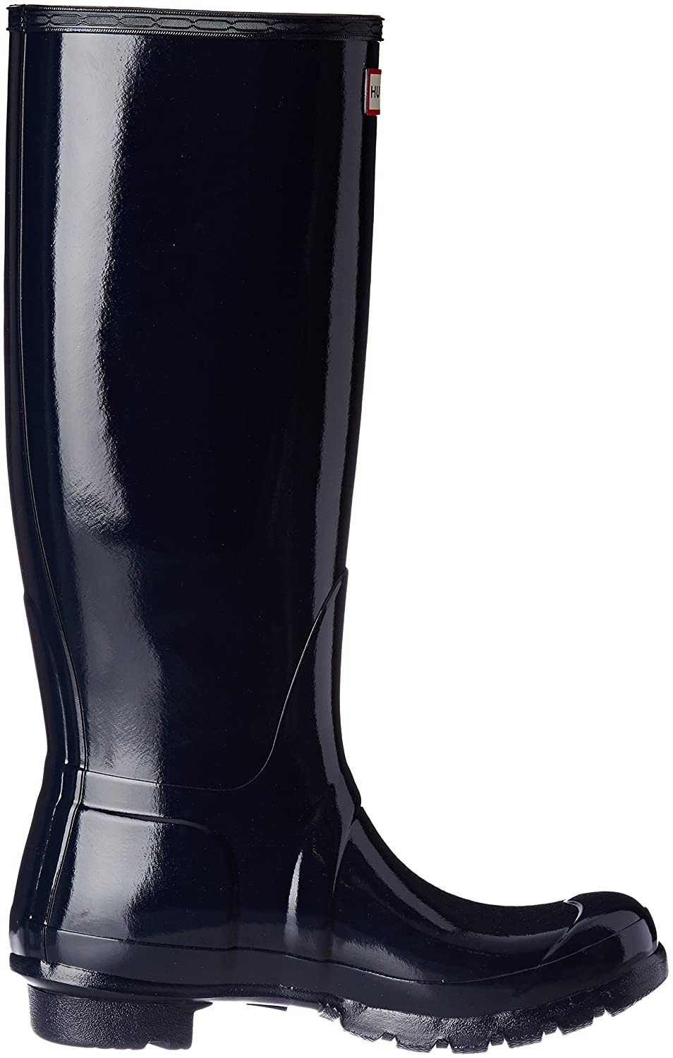 Hunter Women's Original Tall Rain Boot B00NMAFALO 7 B(M) US|Navy Gloss