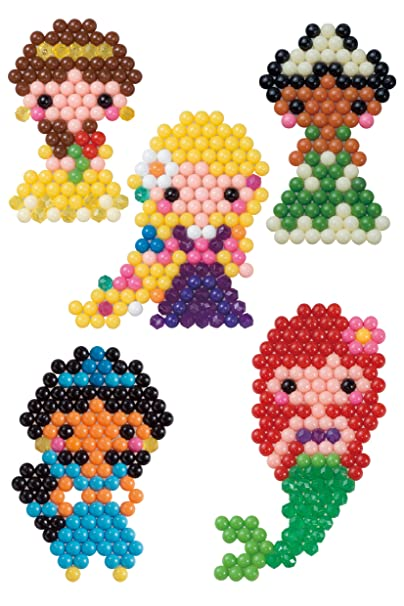 Aquabeads AB Disney Princess Character Set Amazoncouk Toys - Aquabeads templates