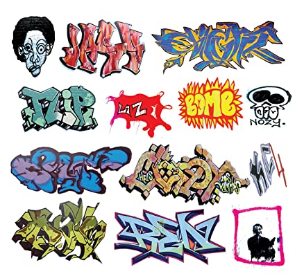O scale custom graffiti decals 7