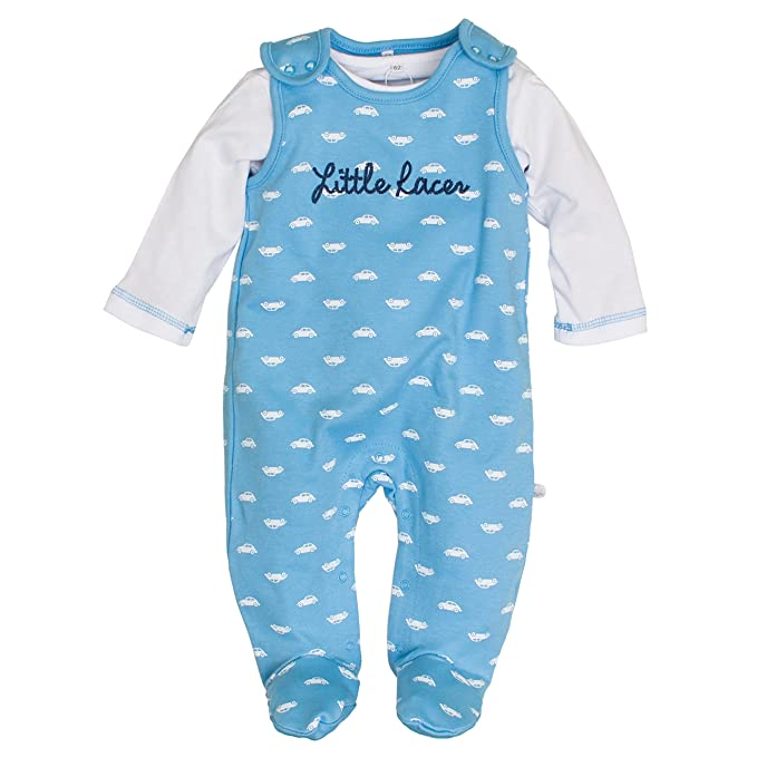 Salt & Pepper NB Playsuit Racer Allover, Pelele Unisex bebé: Amazon.es: Ropa y accesorios