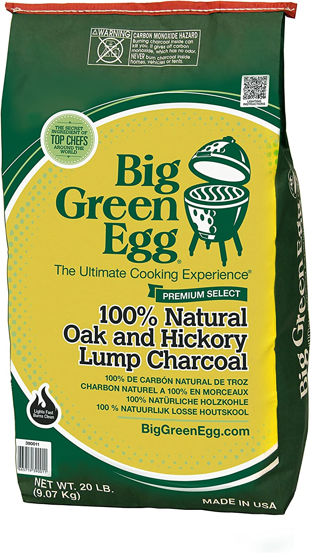 BIG CP 20-pound bag of natural lump charcoal