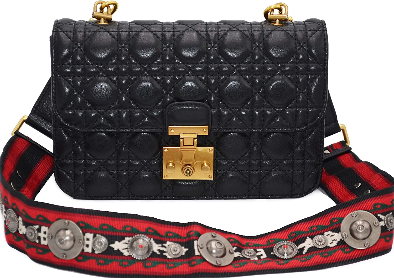 Women's Quilted Leather...