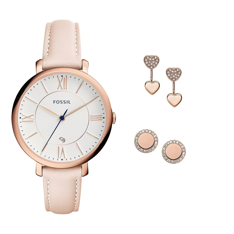 Armbanduhr damen fossil  Fossil Damen-Uhren ES4202SET: Amazon.de: Uhren