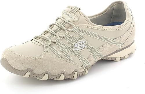 Raramente Arena complejidad  Skechers Women's Bikers-Dream Come True Shoes, Dark Natural - 3 UK:  Amazon.co.uk: Shoes & Bags