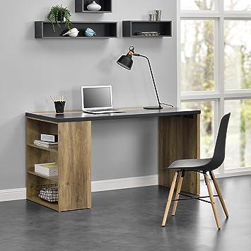 Design Arbeitszimmer en casa design schreibtisch stilvoller arbeitszimmer holzfarben